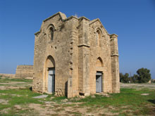 The Virgin Mary of Ganchvor in Turkish-occupied Famagusta