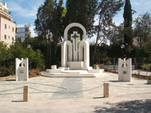 The Armenian Genocide memorial in Nicosia