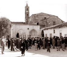 Old Sourp Asdvadzadzin (Notre Dame de Tyre) in Turkish-occupied Nicosia before 1963
